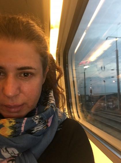 de Comboio até Lisboa