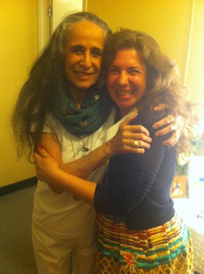 Eu e Maria Bethânia maio 2015