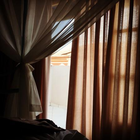 quarto com vista sobre a Bahia de Todos os Santos