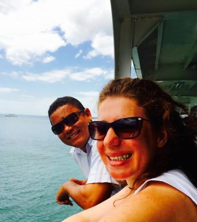 Ferry com o Fábio