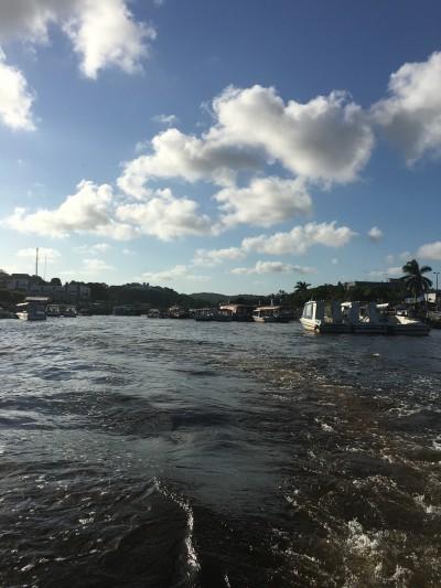 De mar até Boipeba