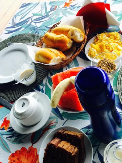 Café da manhã no céu